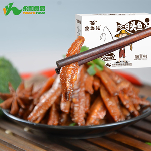 Wholesale Fish Food Spicy Dried Fish for Japanese Children Snack