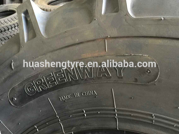 OTR tire 17.5-25 China famous brand Greenway tire with good quality and competitive price