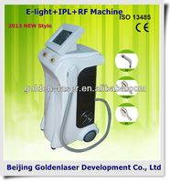 www.golden-laser.org/2013 New style E-light+IPL+RF machine portable diamond peel machine