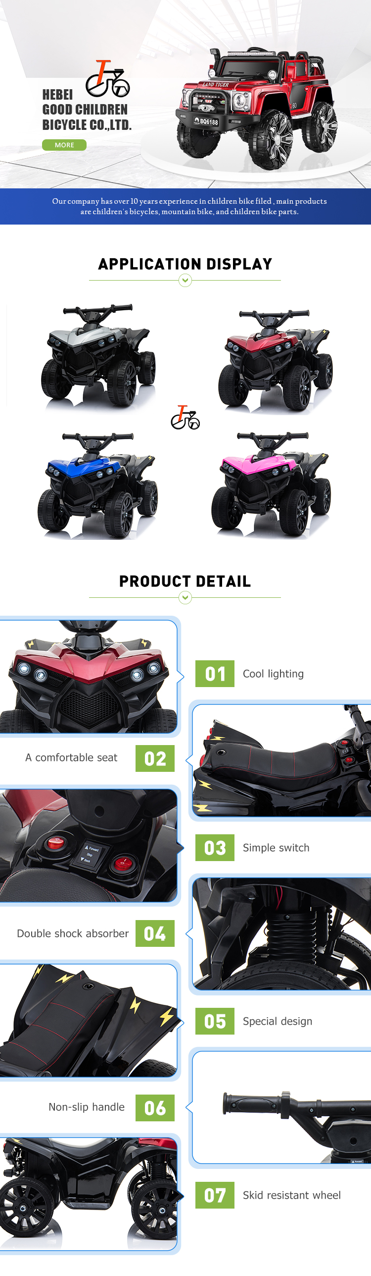 China Newest Kids Remote Control Electric Car Automatic Baby Car Toy