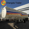 China made stainless steel/ carbon steel /aluminum 3 axles oil tanker trailer for sale
