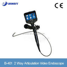 URNDT B-401 Good Quality 2 Way Articulation Video Endoscope Industrial Electronic Endoscope