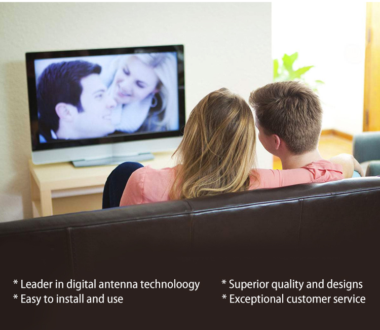 High Quality Customized the best indoor digital tv antenna