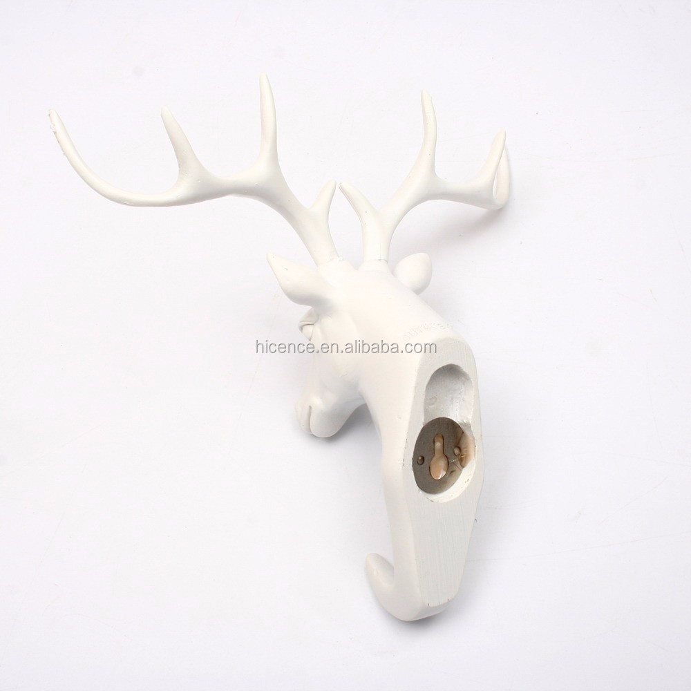 Decorative Wall Mounted Bathroom Resinous Hook