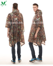 extra large rain poncho with custom printed