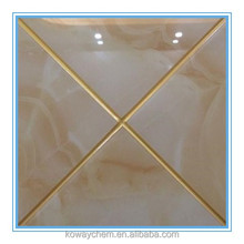 Golden color Double tube two component ceramic flexible epoxy tile grout for seam filling and joint adhesive