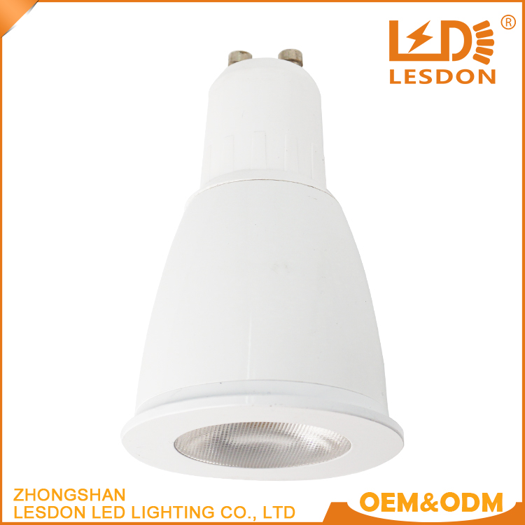 High Bright 3W 5W 7W COB Led lights Dimmable GU10 led spot light led bulbs warm cool white 110V 220V 3 years
