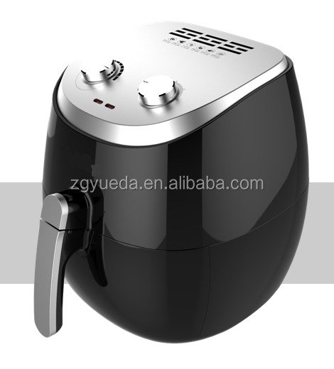 Newest no oil healthy air fryer with stainless steel top air deep fryer without oil