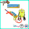 Shantou factory PP material crystal water gun for water park with Elephant backpack