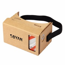 2017 Hot Selling Custom Logo Print acrylic google cardboard biconvex lens for 3D video