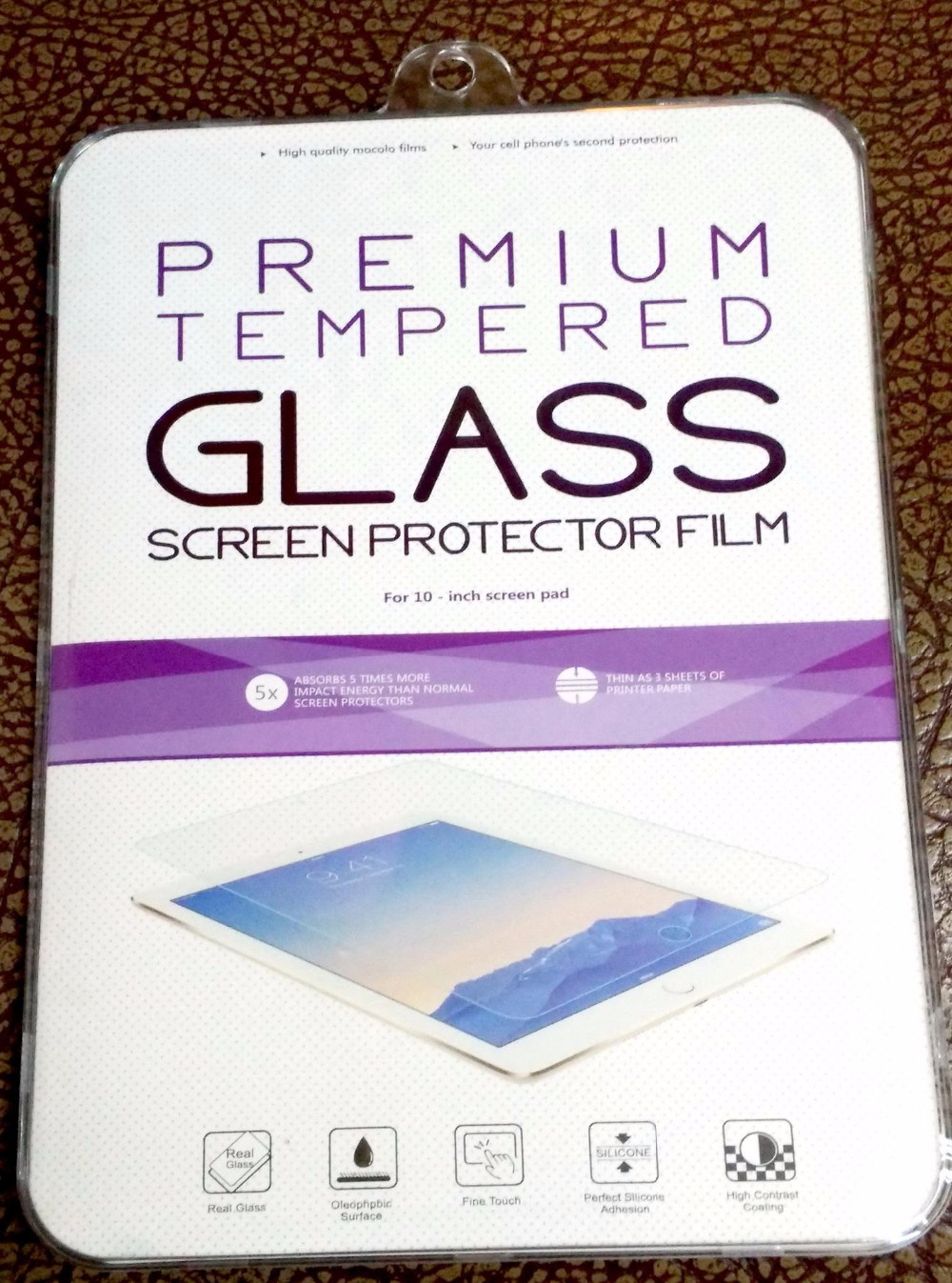 Professional Tempered Glass Screen Protector For Lenovo s8-50 8'' Real Factory For Sell