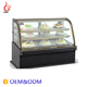 OEM Commercial Square Counter Top Cake Showcase / Pastry display Refrigerator