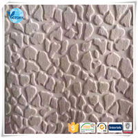 2016 China Popular 100% Polyester Embossed Plush Knitted Fabric