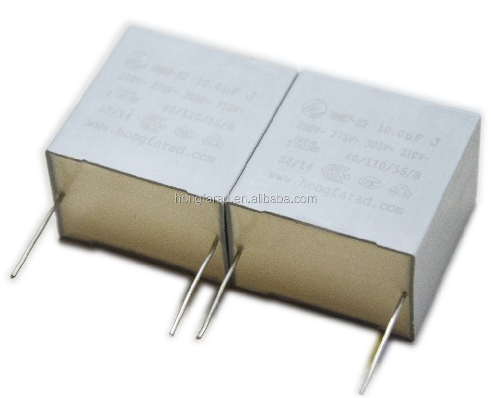 Metallized polypropylene material film interference suppression capacitor model MKP62 MKD
