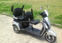electric tricycle with 2 seats for old and disable/passenger electric tricycle /electric trike