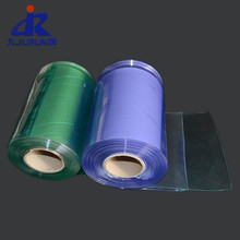 Promotional PVC Strip Roll PVC Clear Curtain Sheet Ribbed Plastic Curtain For Garage