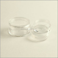3ml,5ml,10ml PS Acrylic Clear Jar from China Factory