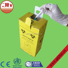 All kind of medical disposable items sharp safe container for medical waste