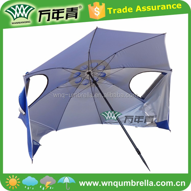UV protection with carry bag umbrella beach tent