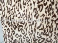 New Prodcuts Plush Faux Fur Top Print Stamp-tax Furriery Fabric