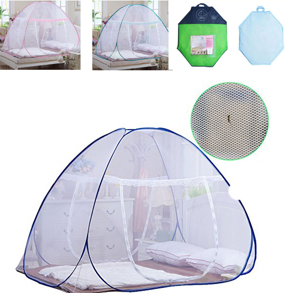 New Design Magic Mosquito Net for Bed Pop Up Mosquito Net Bed for Babies Toddlers Kids Adult Travel