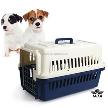 IATA Approved Pet Cages House Type Cardboard Plastic Dog Box
