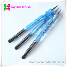 Joyrich Manufacturer supplies French kolinsky double-sided nail brush