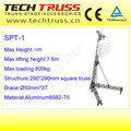 SPT-1 Aluminum line array speaker truss,speaker truss tower,speaker lift truss