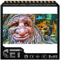 Attractive artificial animatronic talking tree face for sale