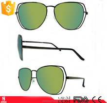 2016 new style fashion metal sunglasses for womens