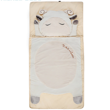 Hot selling high quality sheep animal shape indoor children soften baby sleeping bag