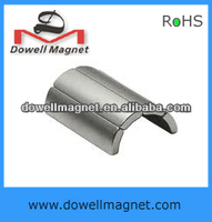 arc motor custom made neodymium magnet