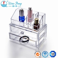 Fancy acrylic lipstick case drawer makeup organizer