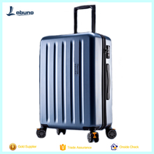 Factory light weight eminent trolley luggage suitcase with wheel luggage