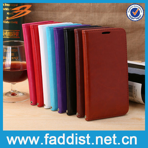 High qualty PU leather case for samsung galaxy note 3 neo with card slots