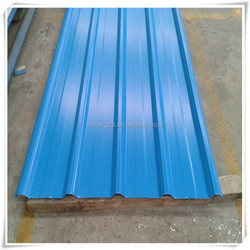 Material Corrugated Plain Roof Tiles Type and Color coated Galvanized Steel Sheet