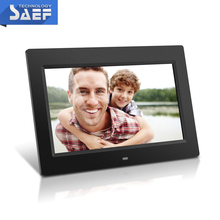 tft lcd media player 10.1 inch 1024*600 electronic digital photo frame with motion sensor
