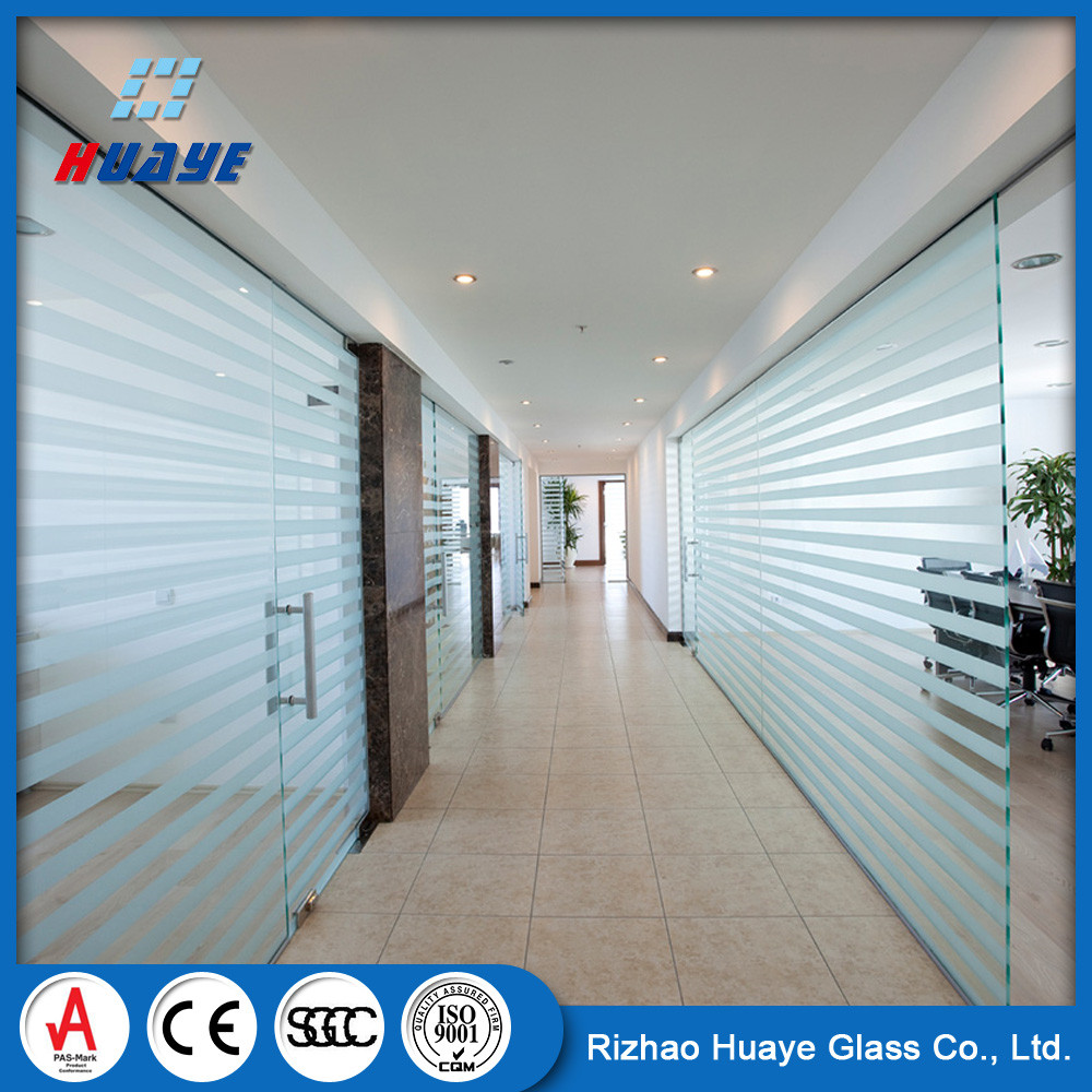 Block Translucent Frosted Glass for Partition