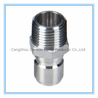 China manufacturing ss304 316 coupling pipe fitting