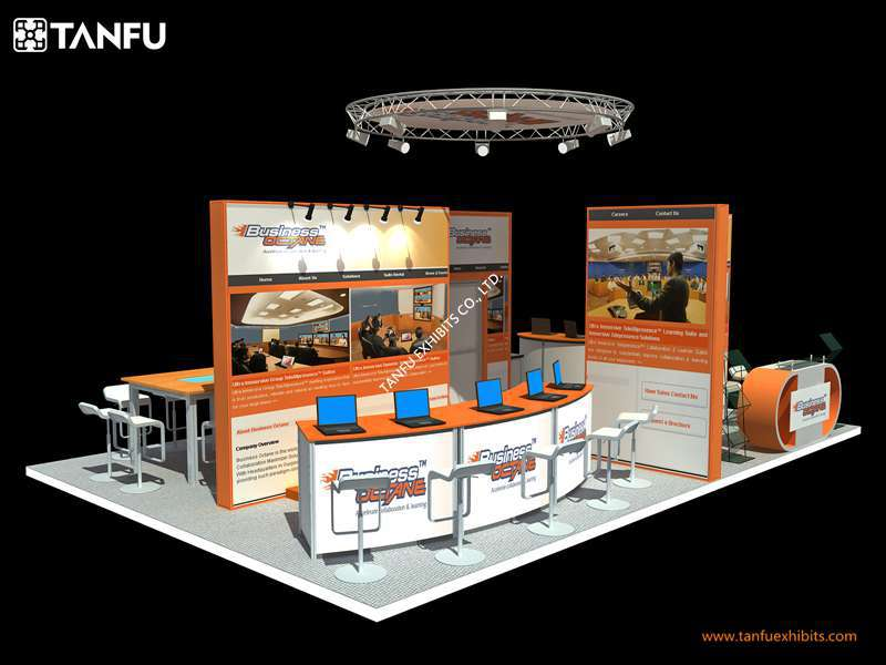 Exhibition Stand Hire Rates : Or expo stand booth with free design rental