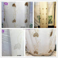 Factory Wholesale Embroidered (EMB) Design Curtains