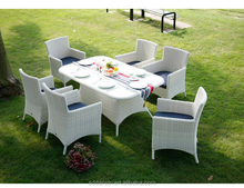 Rattan garden furniture vase chair and dining Table SV-7023A