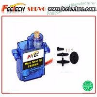 Feetech FS90MGR Metal Gears 360 Degree Continuous Rotation Servo 9g