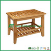 FB6-1020 Wholesale Wooden Bamboo Shoe Bench / Shoe Rack with Seat