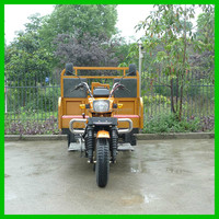 150CC 200CC 250CC 3 Wheel Motorcycle Piaggio Cargo Tricycle for Sale