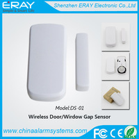 Wireless door sensor window gap contact (DS-01) with low battery alert