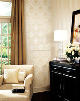 yoke washable flower pvc wallpaper