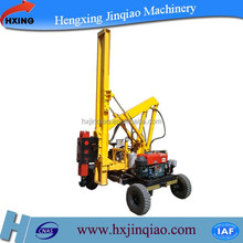 hot sale Multipurpose Guardrail Pile Driver equipment for extracting, piling and pulling