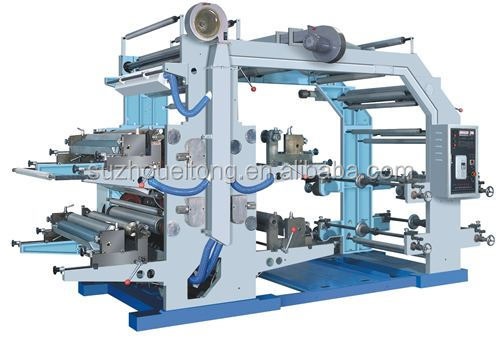 ELT0102 BOPP/PVC/PET/PAPER Flexo Printing Machine