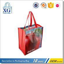 Latest product trendy style business recycled pp woven tote bag